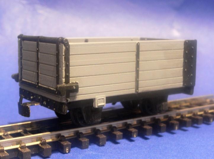 4-Wheel End Door Open Wagon 009