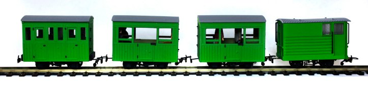 Light Green Coaches