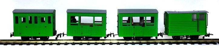 Light Green Coaches