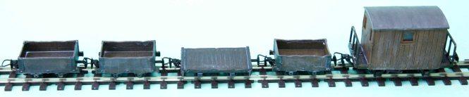 Quarry Wagons Unloaded