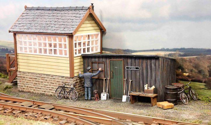 Grassland and Wetland Railway by Glyn Bennett 2