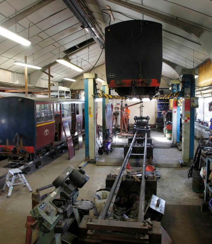 RHDR Carriage Shed