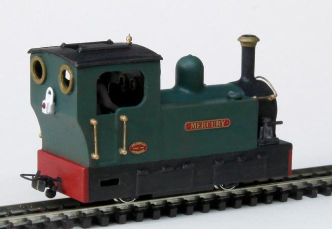 Tram Locomotive Mercury - Finished 2