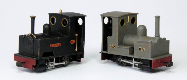 Two New Locos Venus and Elf