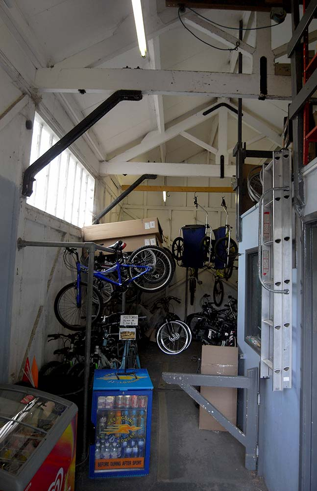 Inside Waterhouses Good Shed