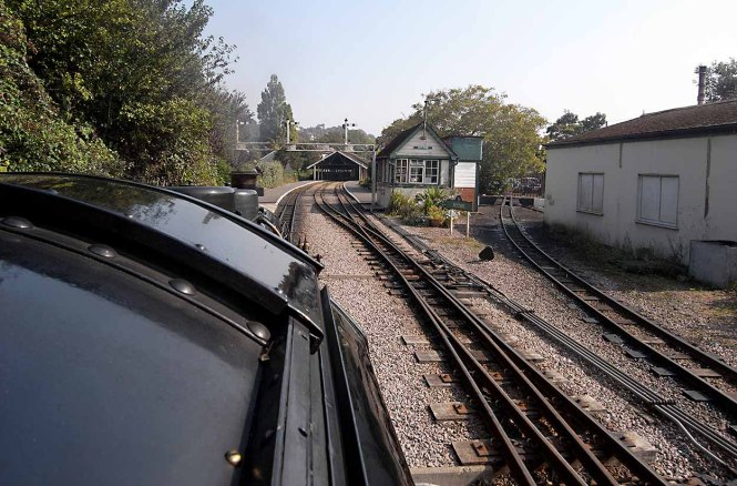 Arriving at Hythe