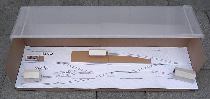 Cardboard Prototype Gonig into Christmas Tree Box