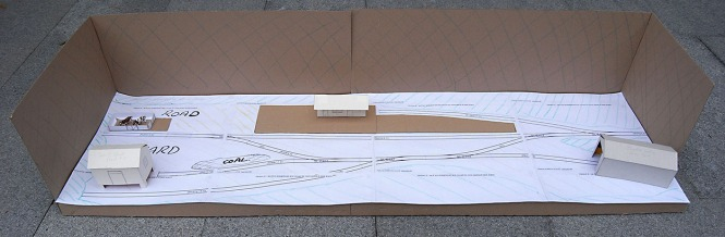Paper Prototype of Thaxted Terminus