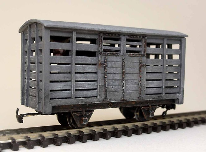 Cattle Wagon Finished