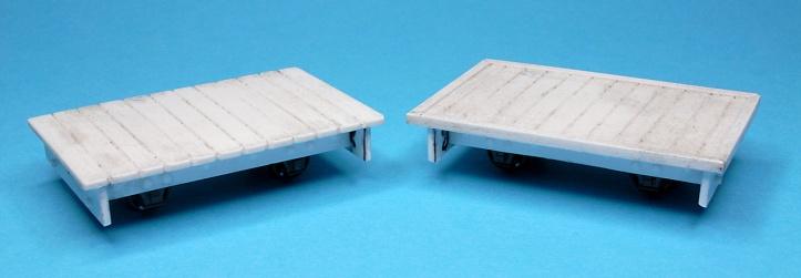 O9 Flat Wagons