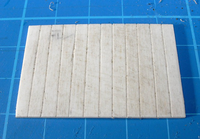 Roughened Woodwork