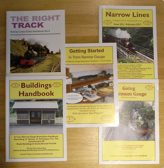 7mm Narrow Gauge Association Publications