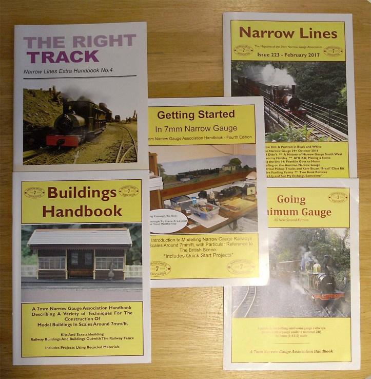 7mm Narrow Gauge Association Publications