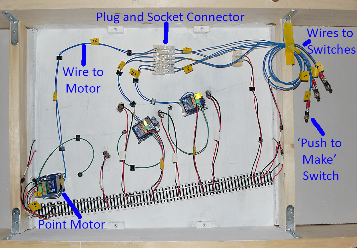 Dcc Wiring Stephen Download Diagrams For More Progress With Point Motors Connected Steve S 009 And Rh 009adventure Blog Digitrax Easy